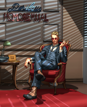 Milo Yiannopuolos by Orr-Malus