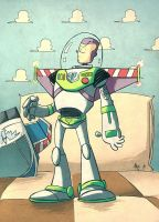 Buzz Lightyear Of Star Command by tyrannus