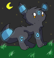 Umbreon For Aven by Celestial-Trance