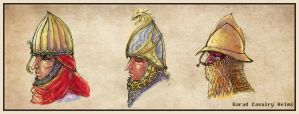 Harad Cavalry Helms by Merlkir