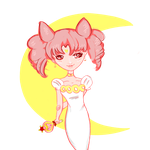 Chibiusa by cherrydoveberry