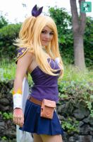 Lucy Heartfilia Cosplay Grand Magic Games by InfinityAngel92