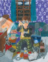 Ed Nerling (Late Night Science) by Sketchman147