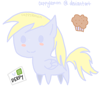 derpy chibi by cuppylemon