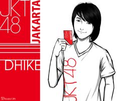 fan art ..Dhike from JKT48 by Will-D-Ant