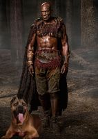 Oenomaus and His Daemon by LJ-Todd