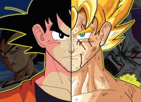 Anime Duality - Goku by OptimumBuster