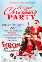 Christmas party Eros flyer by DeityDesignz