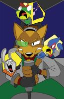 The annoyances of Team Starfox by jimferno