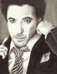 Robert Downey, Jr. by Nerkle
