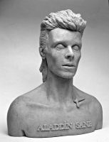 Aladdin Sane Bust by Switchum
