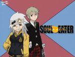 Gender Bender: Soul Eater- Soul and Maka by RomyGraban