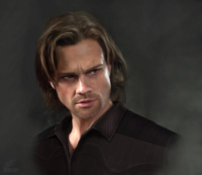 jared padalecki Commission by aniigraphuse