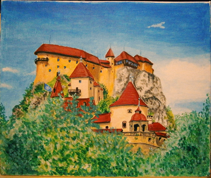 Orava castle by ZoeLara