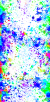 Rainbow Paint Splotches [White Background SHORT] by darkdissolution