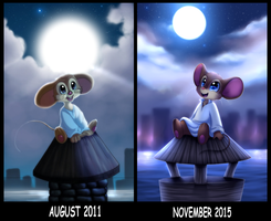 Somewhere Out There - Redraw by YogurtYard