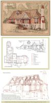 House 343 Portrait and Plan by Built4ever