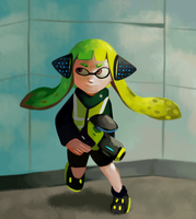 Agent 3 by carrotsnake