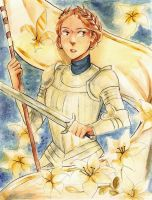 Joan of Arc by Coralic
