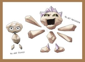 Floating Rock Fakemon by thyghostboy