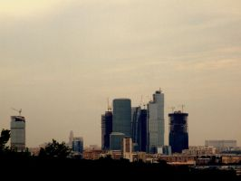 Moscow City by grigant