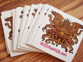 Totem sticker full color by missmonster