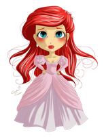 Princess Ariel by MissElysium