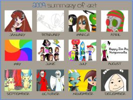 art of 2009 XD by YingYang-girl