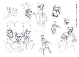 Various Sketches by Leopreston