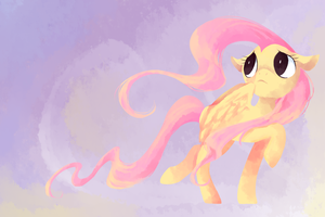 fluttershy by tearzahs