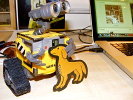 When Wall-E met Pablo... by Lycanstrife