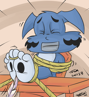 Lu gets fun Tickles by Lu-1