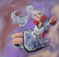 Weiss the Huntress by SoulsCore