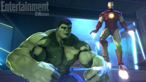 Marvel's Iron Man And Hulk Heroes United by Supahboy