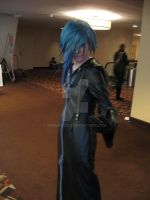 Zexion Cosplay momocon 2013 by werewolf29
