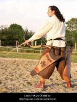 Hungarian Archer 11 by syccas-stock