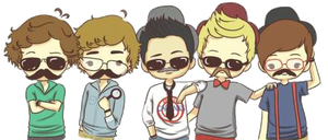 ONE DIRECTION PNG by Majolovegood