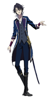 K Project : Fushimi -Colored- by ChatarinaTSP
