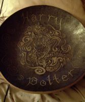 Harry Potter Bowl by balletvamp