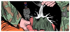 Waterboarding by Latuff2