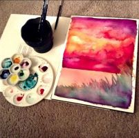 Red at Night, Sailor's Delight (2015) by that-artsy-ch1ck
