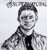 Dean Winchester by LadyKryptonite294