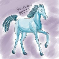 Horse a Day - Dec 15 by liliy