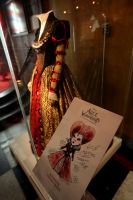 Exhibition - Red Queen's Dress by AliceInWonderland