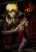 Dark Signer Jack Atlas by slifertheskydragon