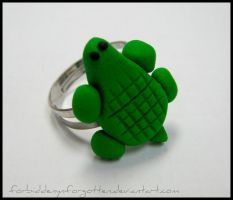::Turtle Ring:: by Forbiddenynforgotten