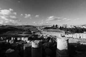 Jerash: Black and White by Mgsblade