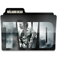 The Walking Dead Folder Icon Season 6 .1 by HeisenbergLeao