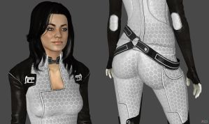 Miranda Lawson Default Suit HR by g1pno