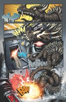 Godzilla: Rulers of Earth issue 14 page 1 by KaijuSamurai